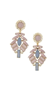 Wild Lilies Jewelry  Pastel Statement Earrings - Front cropped