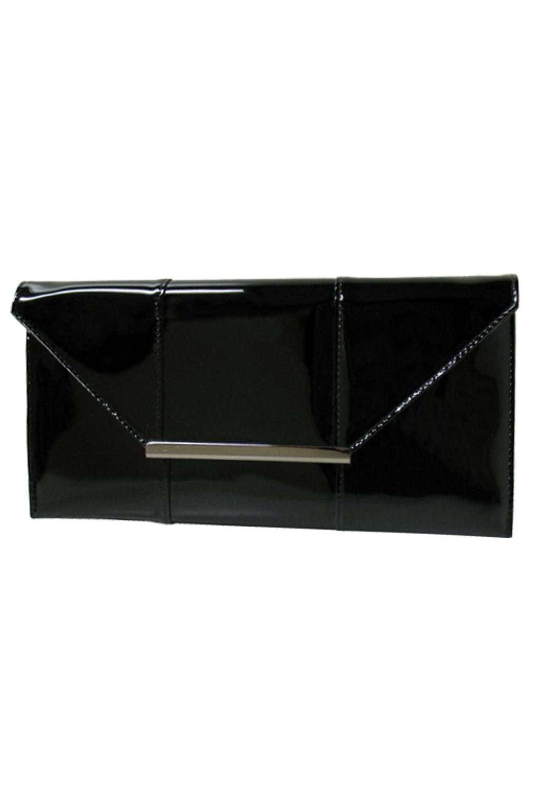 Wild Lilies Jewelry  Patent Leather Clutch - Main Image