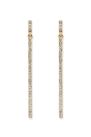 Wild Lilies Jewelry  Pave Bar Earrings - Product Mini Image