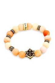 Wild Lilies Jewelry  Peach Anchor Bracelet - Product Mini Image