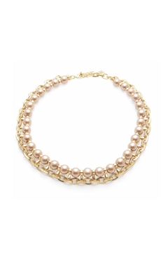 Wild Lilies Jewelry  Pearl Chain Necklace - Product List Image