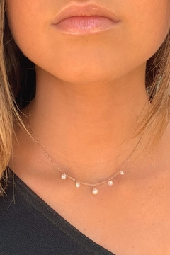 Wild Lilies Jewelry  Pearl & Crystal Necklace - Alternate List Image