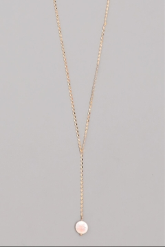 Wild Lilies Jewelry  Pearl Lariat Necklace - Alternate List Image