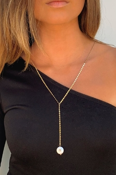 Wild Lilies Jewelry  Pearl Lariat Necklace - Product List Image
