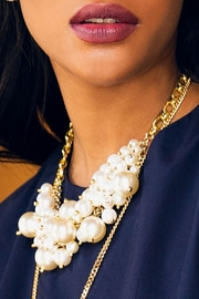 Wild Lilies Jewelry  Pearl Statement Necklace - Front cropped