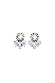 Wild Lilies Jewelry  Pearl Statement Studs - Front cropped