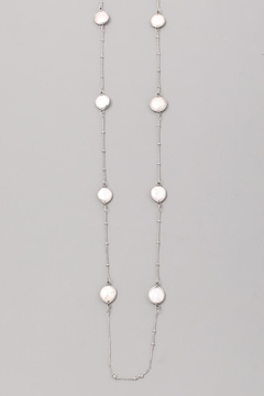 Wild Lilies Jewelry  Pearl Station Necklace - Alternate List Image