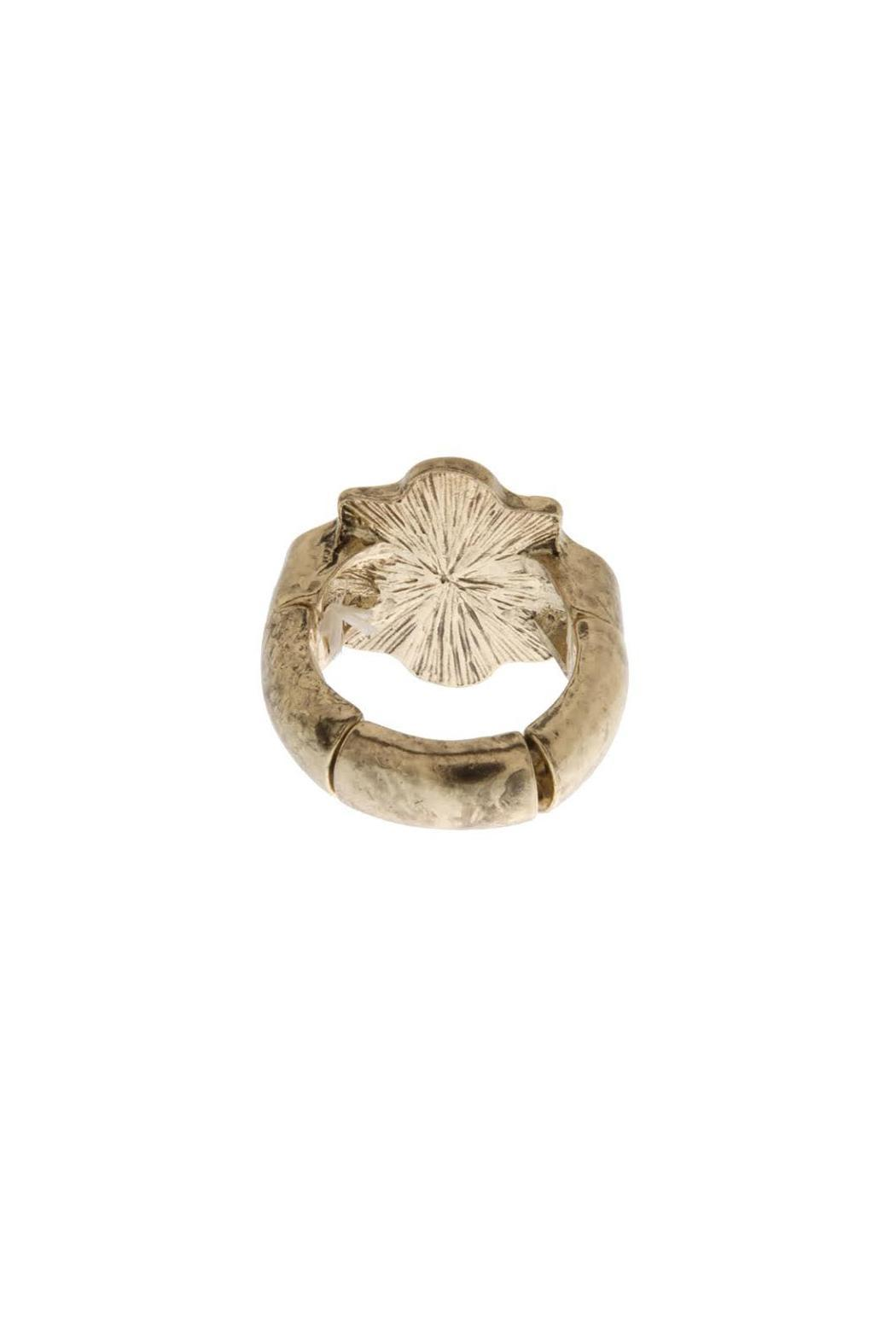 Wild Lilies Jewelry  Pearl Sunburst Ring - Side Cropped Image
