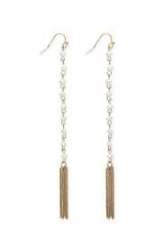 Wild Lilies Jewelry  Pearl Tassel Earrings - Product Mini Image