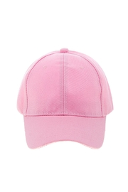 Wild Lilies Jewelry  Pink Baseball Cap - Side cropped