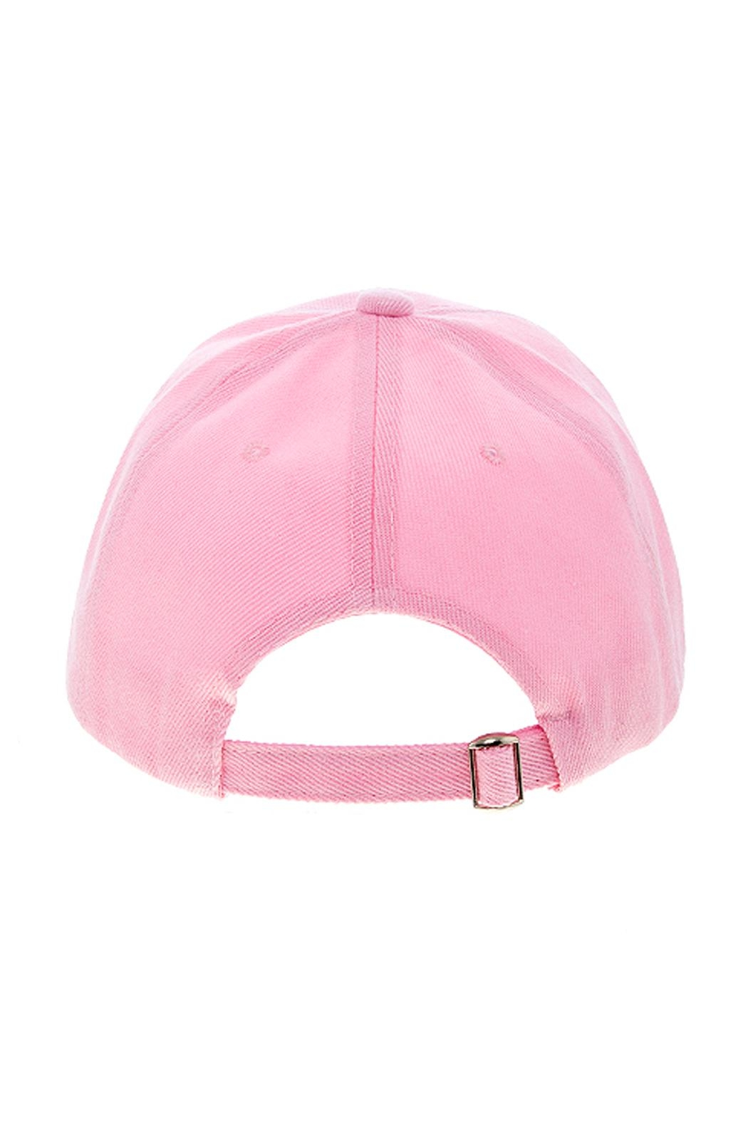 Wild Lilies Jewelry  Pink Baseball Cap - Back Cropped Image