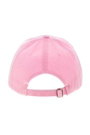 Wild Lilies Jewelry  Pink Baseball Cap - Back cropped