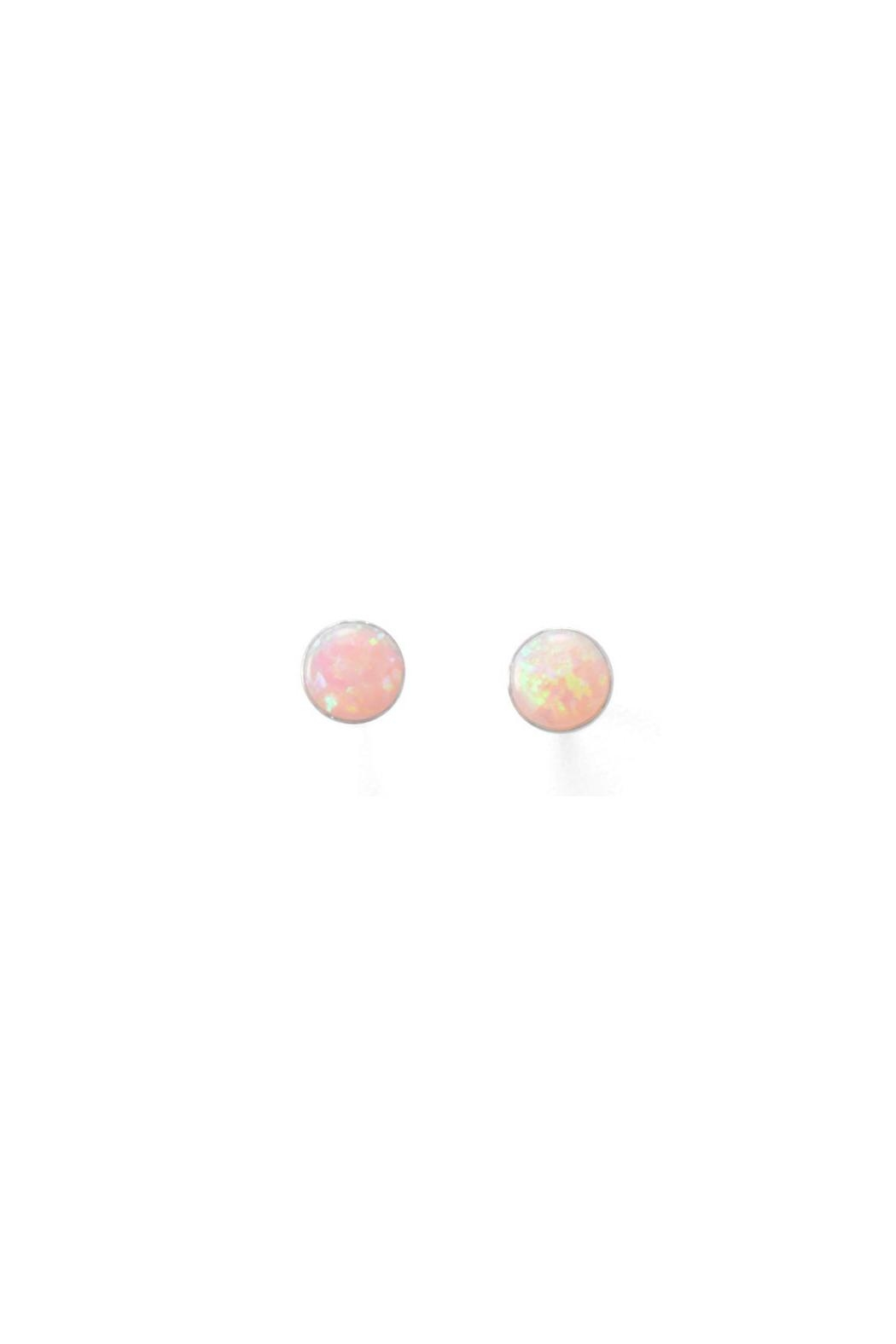 Wild Lilies Jewelry  Pink Opal Studs - Main Image