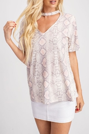 Wild Lilies Jewelry  Pink Snakeskin Top - Product Mini Image