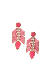 Wild Lilies Jewelry  Pink Statement Earrrings - Product Mini Image