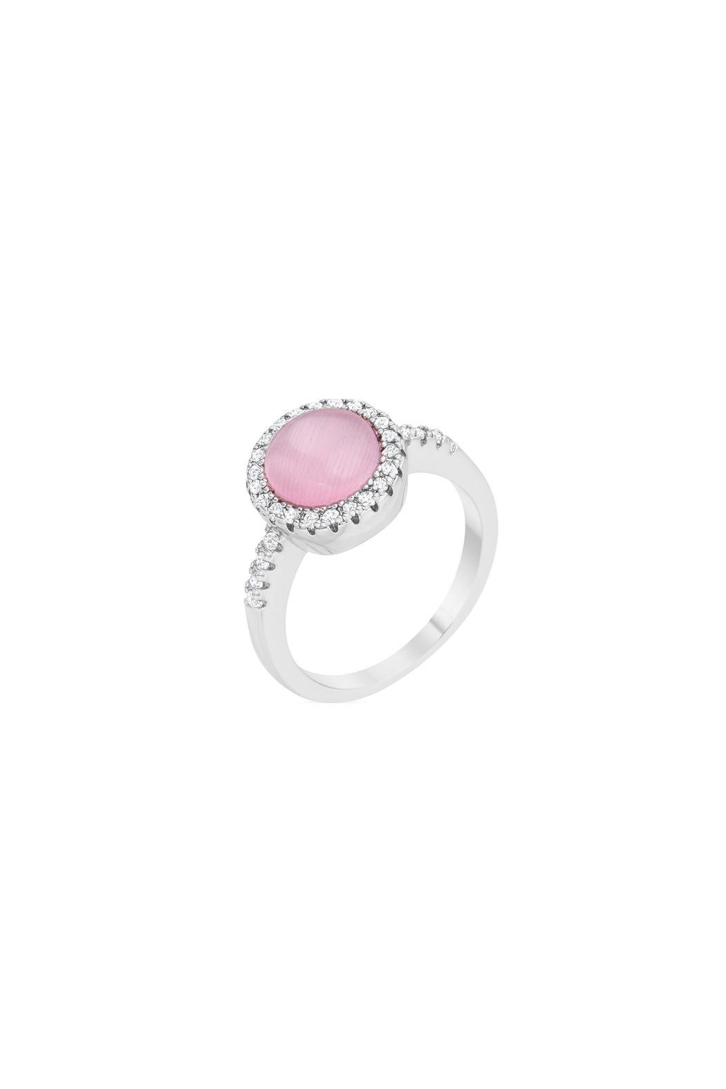 Wild Lilies Jewelry  Pink Stone Ring - Main Image
