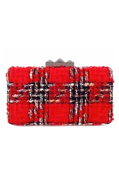 Shoptiques Product: Plaid Box Clutch