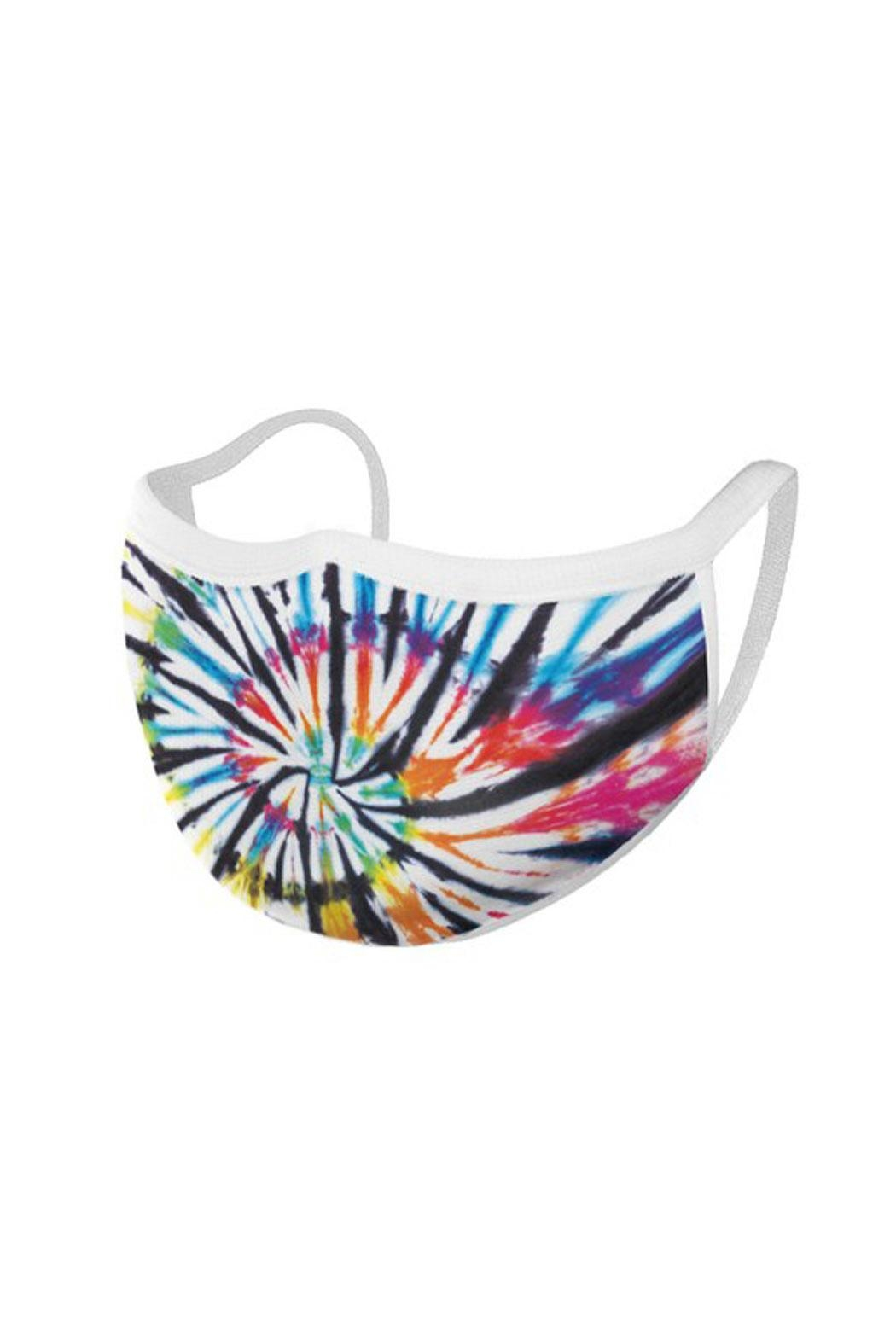 Wild Lilies Jewelry  Rainbow Face Mask - Side Cropped Image