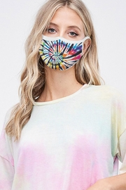 Wild Lilies Jewelry  Rainbow Face Mask - Front cropped