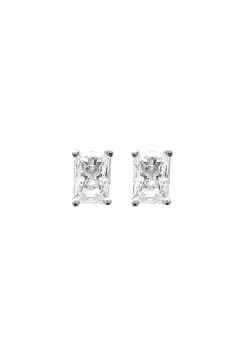 Shoptiques Product: Rectangle Crystal Studs