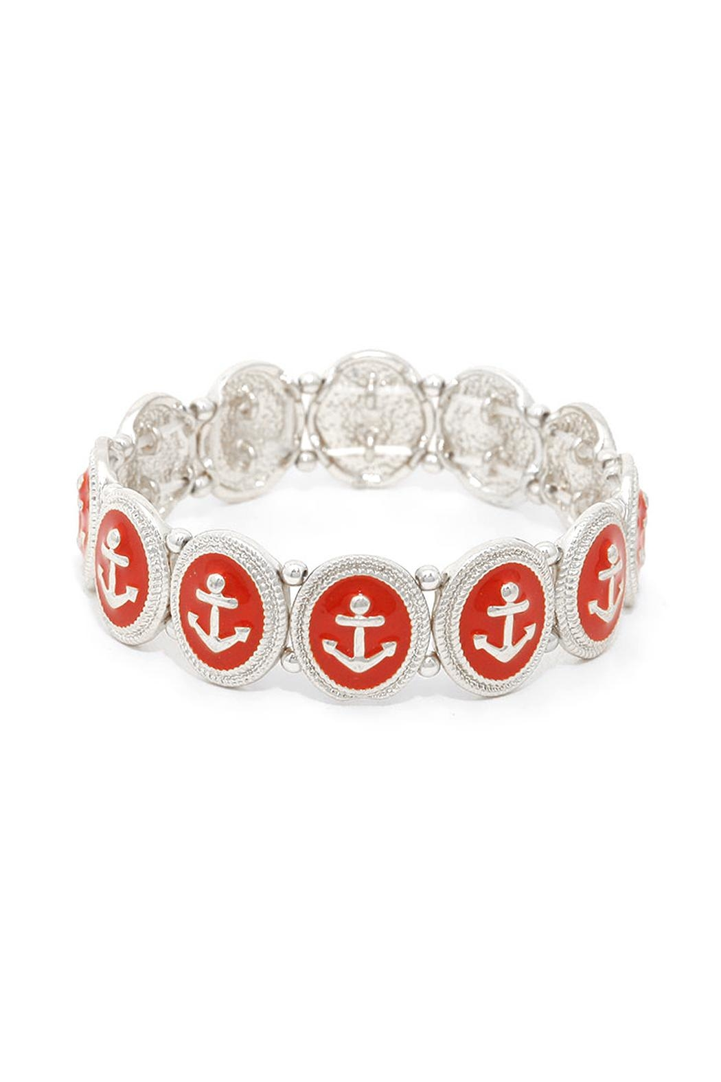 Wild Lilies Jewelry  Red Anchor Bracelet - Main Image