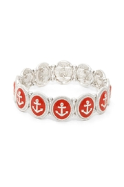 Wild Lilies Jewelry  Red Anchor Bracelet - Product Mini Image