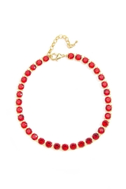 Wild Lilies Jewelry  Red Crystal Necklace - Product Mini Image