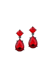 Wild Lilies Jewelry  Red Drop Earrings - Product Mini Image