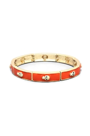 Wild Lilies Jewelry  Red Skull Bracelet - Front cropped