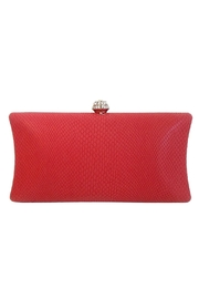 Wild Lilies Jewelry  Red Snakeskin Clutch - Front full body