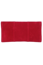 Wild Lilies Jewelry  Red Velvet Clutch - Front full body