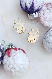 Wild Lilies Jewelry  Reindeer Head Studs - Product Mini Image
