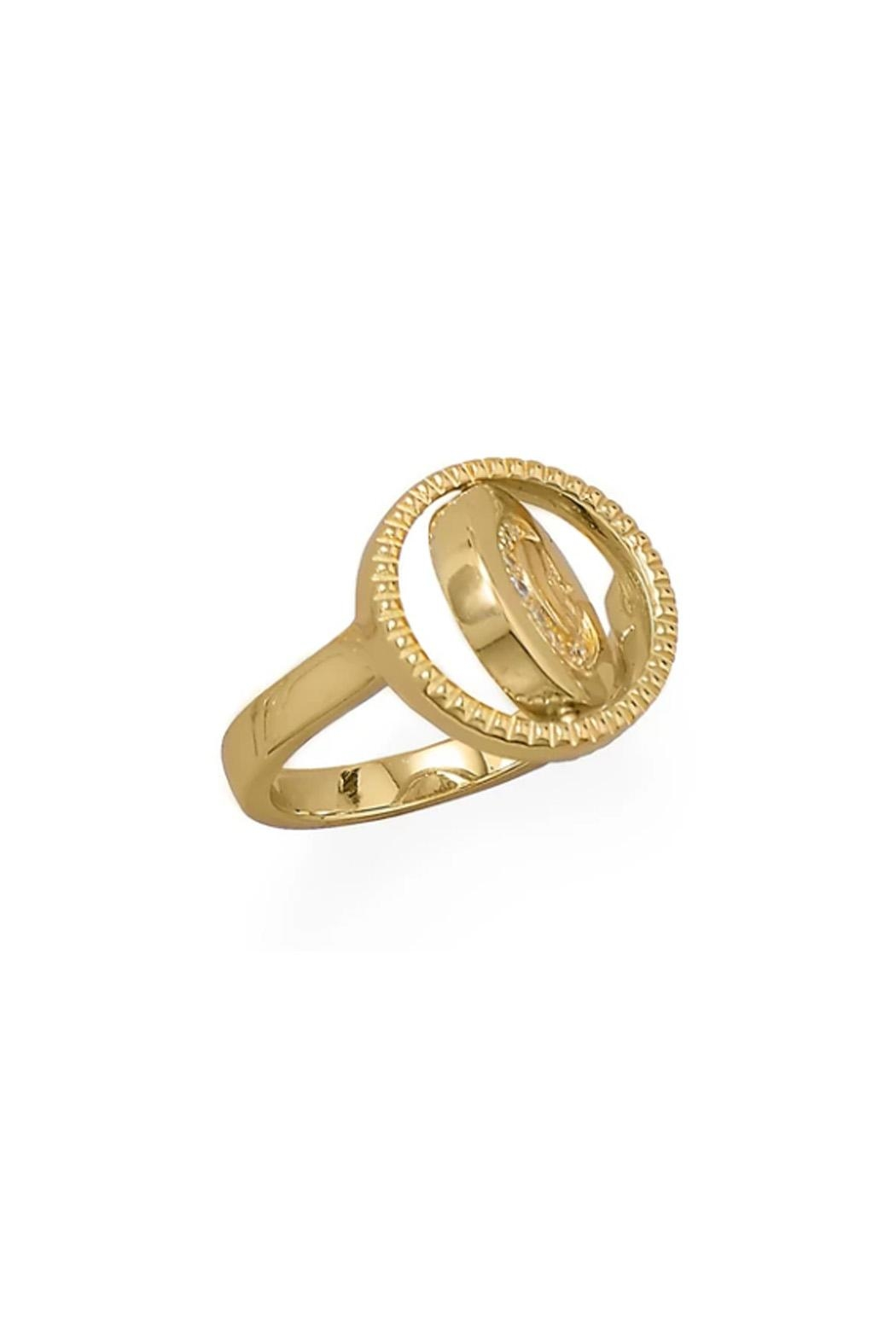 Wild Lilies Jewelry  Reversible Gold Ring - Side Cropped Image