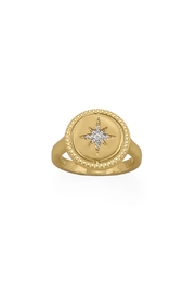 Wild Lilies Jewelry  Reversible Gold Ring - Front cropped