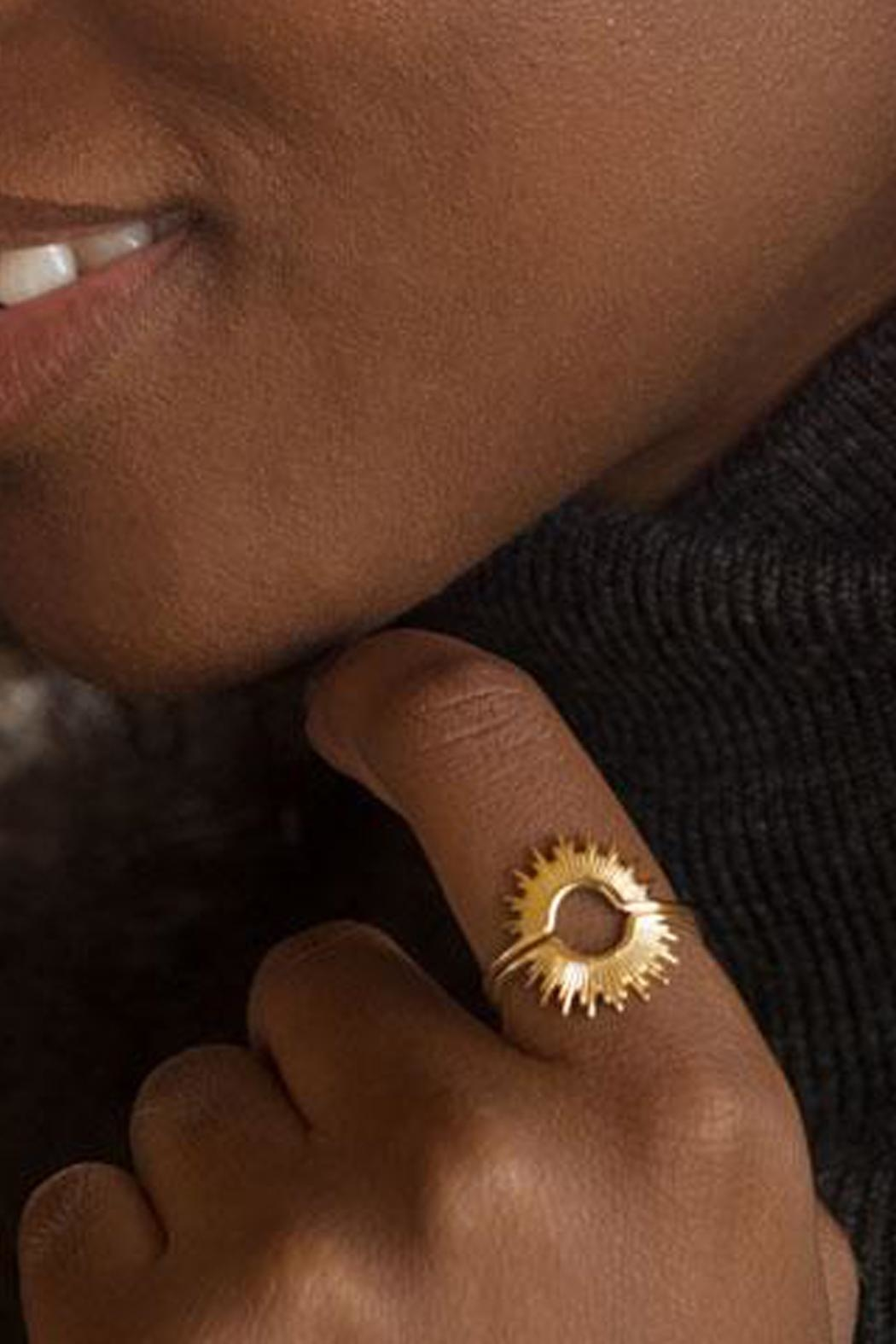 Wild Lilies Jewelry  Rising Sun Ring - Side Cropped Image
