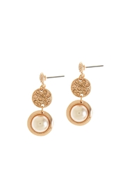 Wild Lilies Jewelry  Rose Gold Tiered Earrings - Front full body