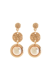 Wild Lilies Jewelry  Rose Gold Tiered Earrings - Product Mini Image