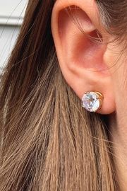 Wild Lilies Jewelry  Round Crystal Studs - Product Mini Image