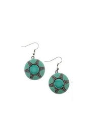 Wild Lilies Jewelry  Round Drop Earrings - Product Mini Image