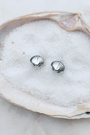 Wild Lilies Jewelry  Seashell Stud Earrings - Product Mini Image