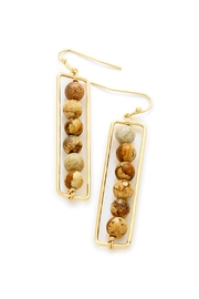 Wild Lilies Jewelry  Semi Precious Earrings - Front cropped