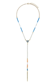 Wild Lilies Jewelry  Semi-Precious Lariat Necklace - Front cropped