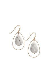 Wild Lilies Jewelry  Semi Precious Teardrop Earrings - Product Mini Image