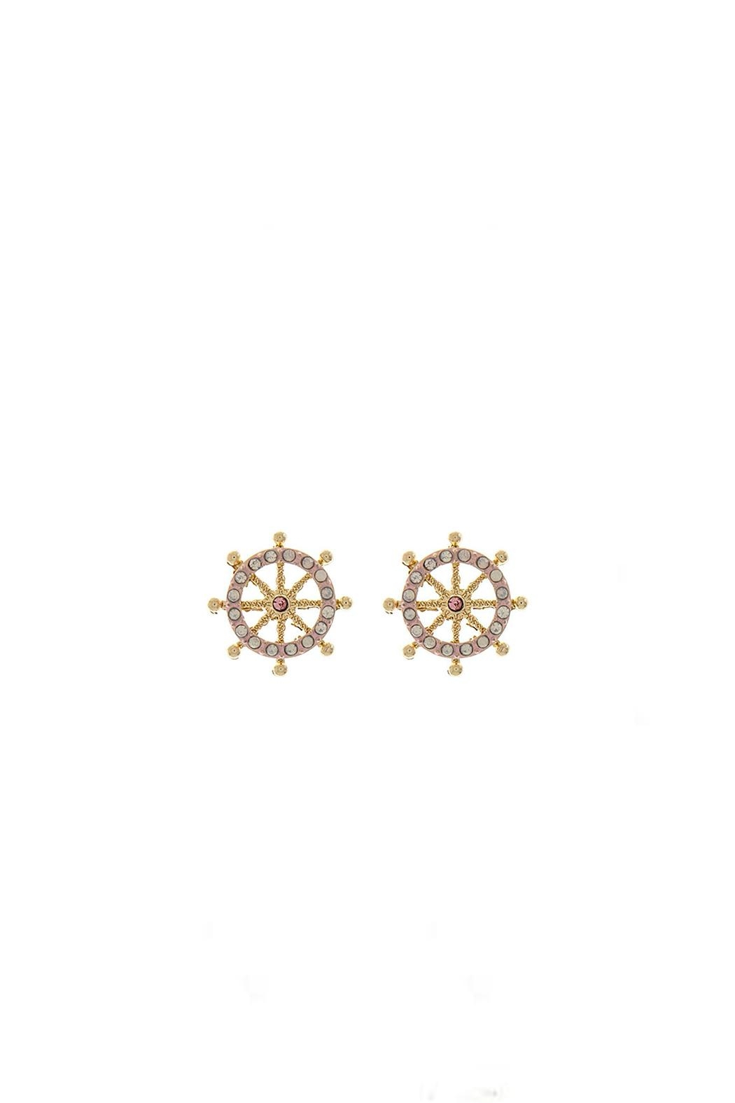 Wild Lilies Jewelry  Ship Wheel Earrings - Main Image