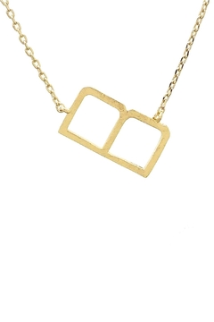 Wild Lilies Jewelry  Sideways Initial Necklace - Product List Image