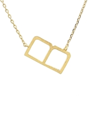 Wild Lilies Jewelry  Sideways Initial Necklace - Product Mini Image