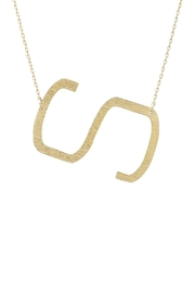 Wild Lilies Jewelry  Sideways Initial Necklace - Other