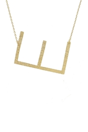 Wild Lilies Jewelry  Sideways Initial Necklace - Side cropped