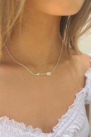 Wild Lilies Jewelry  Silver Arrow Necklace - Product Mini Image