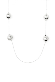 Wild Lilies Jewelry  Silver Ball Necklace - Side cropped